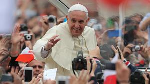 The Vatican said details of Pope Francis's April 28-29 trip will be announced soon