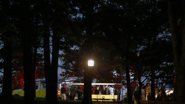 Emergency responders work at Table Rock Lake (Nathan Papes/The Springfield News-Leader/AP)