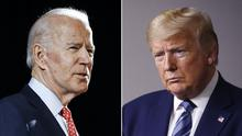 Joe Biden will duel with Donald Trump for the presidency (AP)