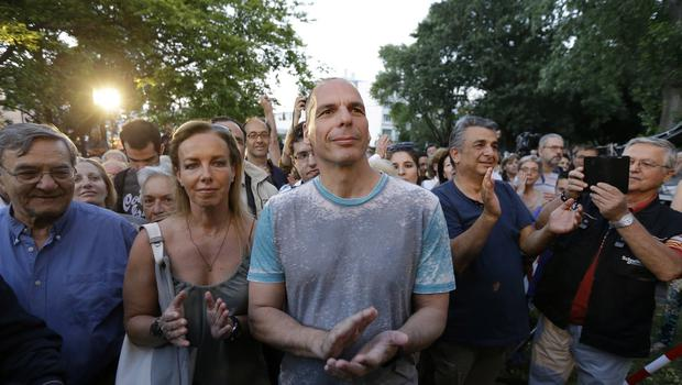 There are reports Greece's finance minister Yanis Varoufakis does not intend to put forward any new plans to eurozone counterparts on Thursday (AP)