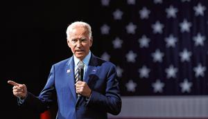 Claims: White House hopeful Joe Biden has not commented on the allegation. Photo: Reuters