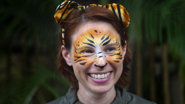 Stacey Konwiser had been working with tigers at the Palm Beach Zoo for three years (Palm Beach Post/AP)