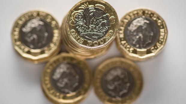 The pound launched a recovery on Tuesday (PA)
