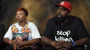 Michael Brown's parents have dismissed a police apology over the fatal shooting of their son (AP)