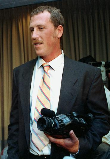 George Holliday filmed the attack on Rodney King on using his newly purchased video camera (Craig Fujii/AP)