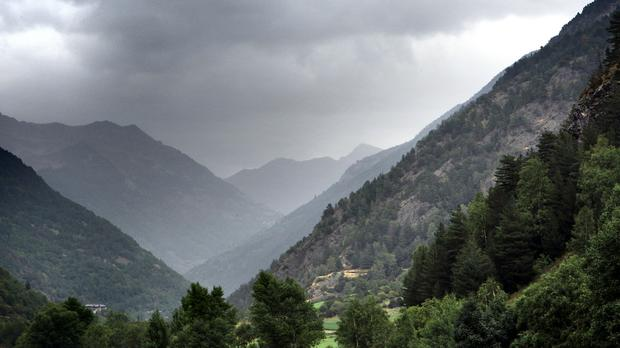 The pair got lost in the Pyrenees