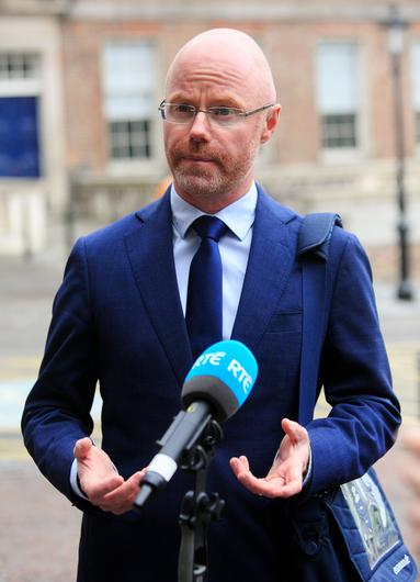 Minister for Health Stephen Donnelly said the Health Act needed to be extended for three months. Photo: Gareth Chaney/Collins