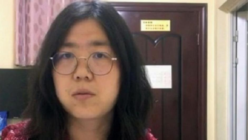 Zhang Zhan has been jailed for four years for reporting on Coronavirus in Wuhan