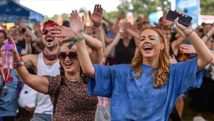 Festival-goers in attendance at the Electric Picnic 2019 at Stradbally in Laois. Photo: Sam Barnes/Sportsfile