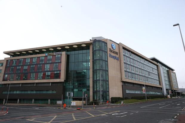 Beacon Hospital pictured in Sandyford Co Dublin Pic Stephen Collins/Collins Photos