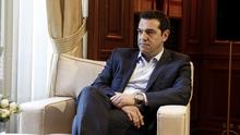 Greece's Prime Minister Alexis Tsipras is hoping for an EU bailout deal (AP)