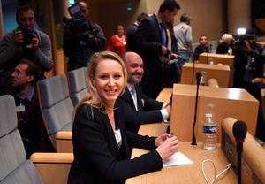 The vice-President of the French far-right Front National (FN) party Marion Marechal Le Pen.