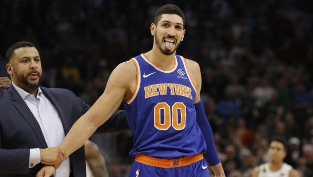 New York Knicks' Enes Kanter (Jeffrey Phelps/AP)