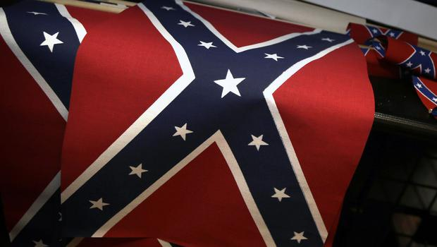 Many South Carolina politicians are backing a move to oust the Confederate flag from the statehouse grounds, a survey says (AP)