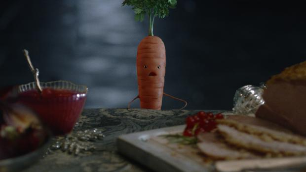 Aldi's 2018 festive campaign starred Kevin the Carrot for a third year (Aldi/PA)