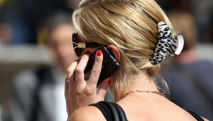 'Phones are ruining the art of conversation.' Stock photo: PA