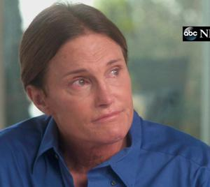 Father-of-six Bruce Jenner talking on ABC