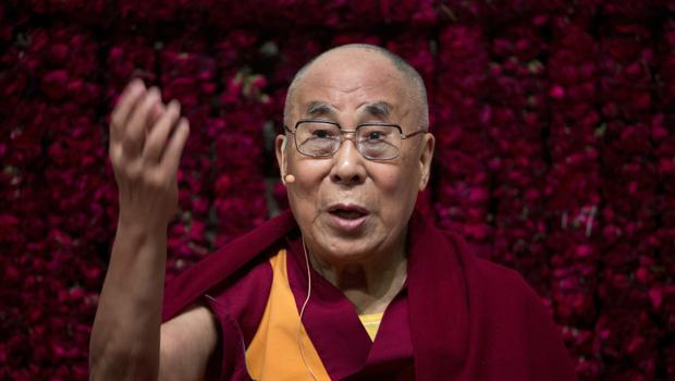 "Beijing described the Dalai Lama's appearance on the show as ""deceptive"" (AP)"