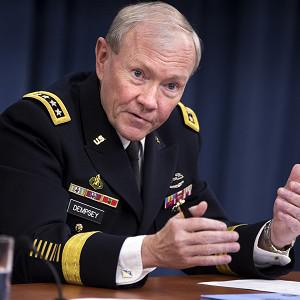 General Martin Dempsey will talk with soldiers in the field in Afghanistan (AP)