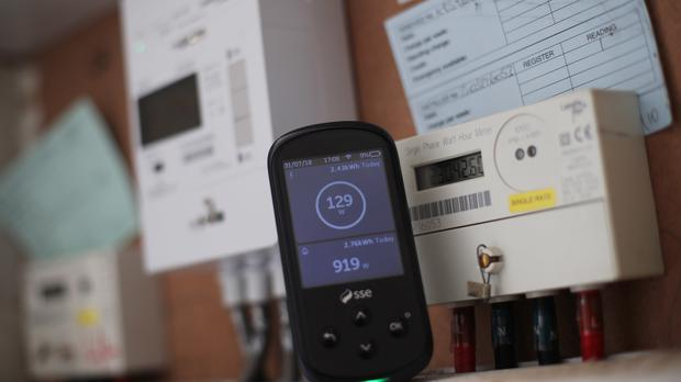 Energy bills will drop in April for customers on a standard tariff as Ofgem is expected to reduce its price cap (John Giles/PA)