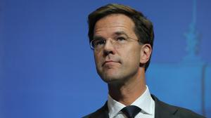 Prime Minister Mark Rutte told national broadcaster NOS two Dutch troops died in the accident.