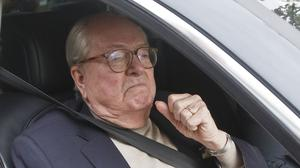 Jean-Marie le Pen has been a thorn in the side of National Front leaders since he turned over the presidency to his daughter Marine Le Pen in 2011 (AP)