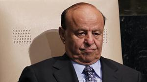 The Yemeni president, Abed Rabbo Mansour Hadi, is reportedly being held captive in his home by Shiite rebels (AP)