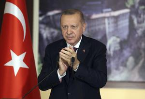 Mr Erdogan has said the move is an effort to curb immorality (AP)