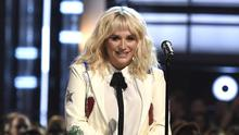 Kesha at the Billboard Music Awards in Las Vegas in May - the singer dismissed a lawsuit she filed in LA against hitmaking producer Dr Luke (AP)