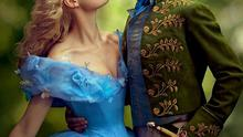 Lily James in Cinderella (2015)  with  Richard Madden