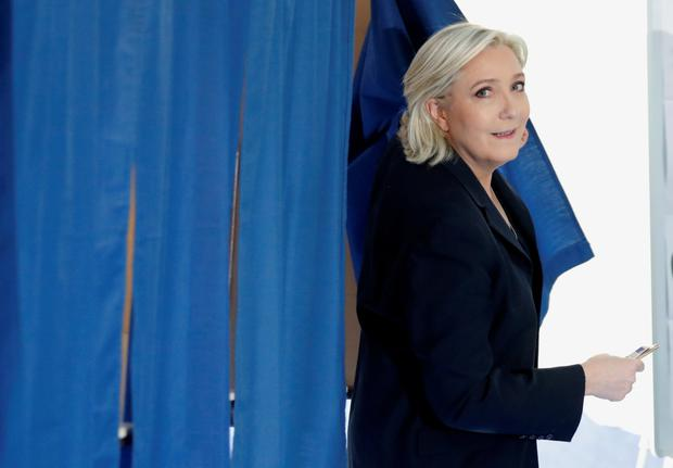 Marine Le Pen, French National Front (FN) political party leader. Photo: Reuters