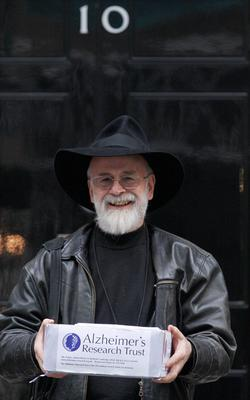 Author Terry Prachett who has died at 66