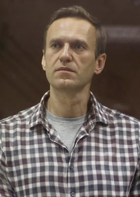 In prison: Alexei Navalny was jailed on February 2 in Moscow. Photo: Reuters