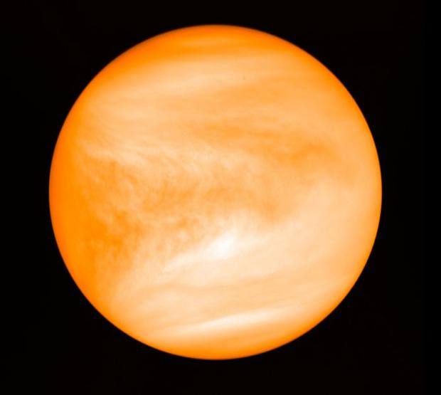 It is thought Earth and Venus were once quite similar, but Earth evolved to become habitable, while Venus has temperatures of 450C