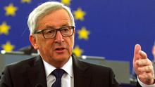 Jean-Claude Juncker: warned Greece, Hungary and Italy can no longer cope alone