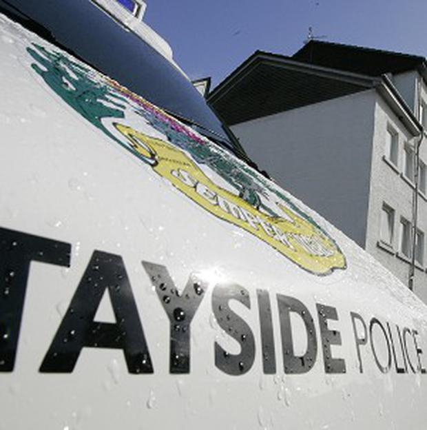 Tayside Police attended a crash in which four school pupils and a van driver were injured