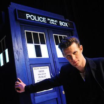 Matt Smith says he has no plans to leave Doctor Who