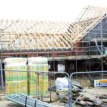 The six-bedroom 'mansion' being built for mother of 11 Heather Frost at Northway, near Tewkesbury, Gloucestershire