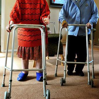 Fewer than half of dementia sufferers living in care homes enjoy a good quality of life, says the Alzheimer's Society