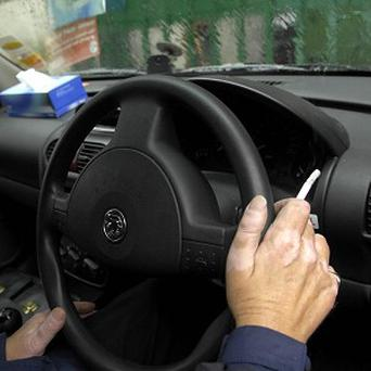 Smoking should be banned in cars carrying children, Health Minister Anna Soubry said