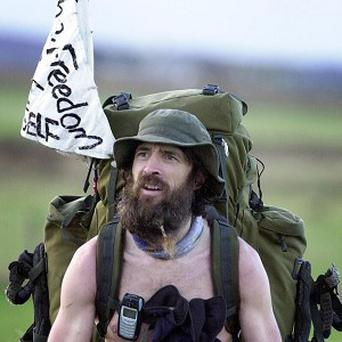 'Naked Rambler' Stephen Gough has breached an Asbo banning him from being nude in public places