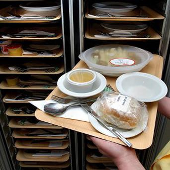 The Department of Health has said it is 'unacceptable' for patients to go hungry or be malnourished in hospitals