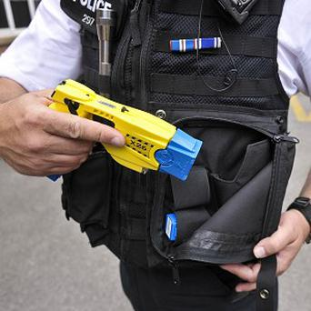A man was Tasered by police near Downing Street