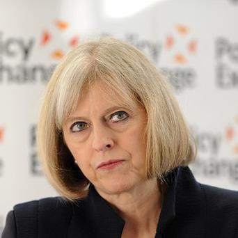 Home Secretary Theresa May said Britain must stop human rights laws interfering with its ability to protect the nation