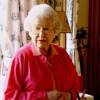The Queen in her private sitting room in Balmoral before the Prime Minister's audience (Oxford Film and Television/PA)