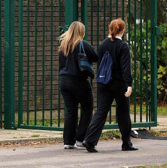 Girls begin to feel pressure about body image at around the age of 13 and 14, it is claimed