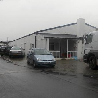 Meat packing firm Farmbox Meats in Llandre, near Aberystwyth, was shut down at the height of the meat scandal