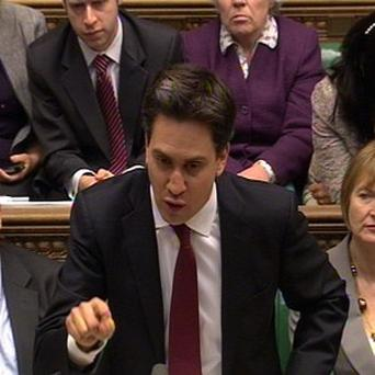 Labour party leader Ed Miliband slammed Chancellor George Osborne's Budget