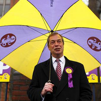 Ukip leader Nigel Farage said he is confident his party can win votes from across the political spectrum