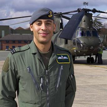 Flight Lieutenant Christopher Gordon has received the Distinguished Flying Cross